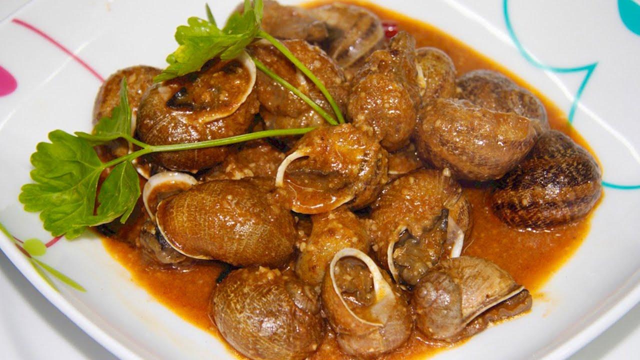 🐌 Receta de Caracoles en salsa picante con Almendras 🐌