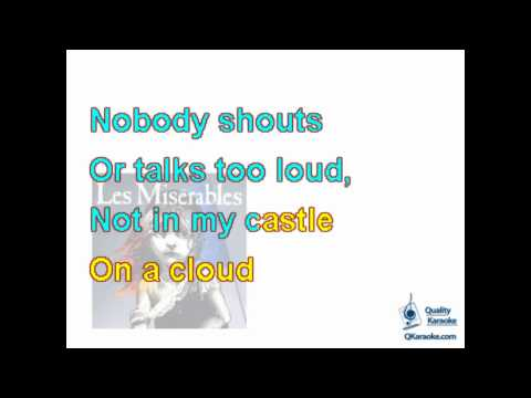 Les Miserables - Castle on a Cloud (Karaoke Instrumental) w/ Lyrics