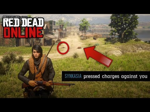 """Red Dead Online (1.09) - """"Griefing Law Breakers!""""... No Hunting Allowed!!! - (Red Dead Redemption 2)"""
