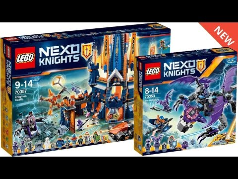 LEGO NEXO KNIGHTS SUMMER 2017 SETS IMAGES! New Sets and Powers!