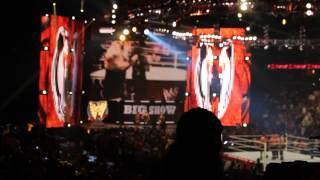 WWE RAW BIG SHOW ENTRANCE 2013 - 04 - 01