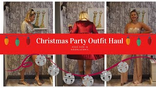 ASOS CHRISTMAS PARTY DRESS HAUL // TRY ON HAUL // SIZE 12
