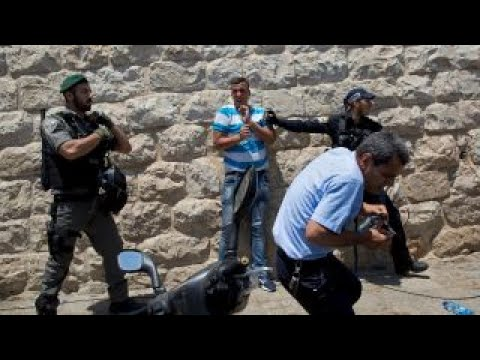 Thumbnail: Violent protests erupt over Jerusalem mosque metal detectors