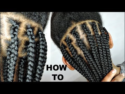 HOW TO BOX BRAID IN AN HOUR