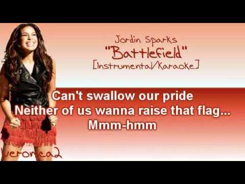 Jordin Sparks - Battlefield [Instrumental/Karaoke]