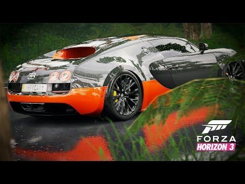 Животно с 1467 коня - Bugatti Veyron 16.4 Super Sport | Forza Horizon 3