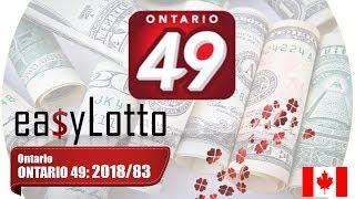 Ontario 49 winning numbers 17 Oct 2018