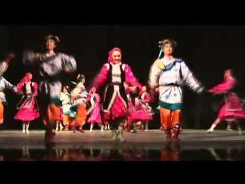 mongolian traditional horse dance