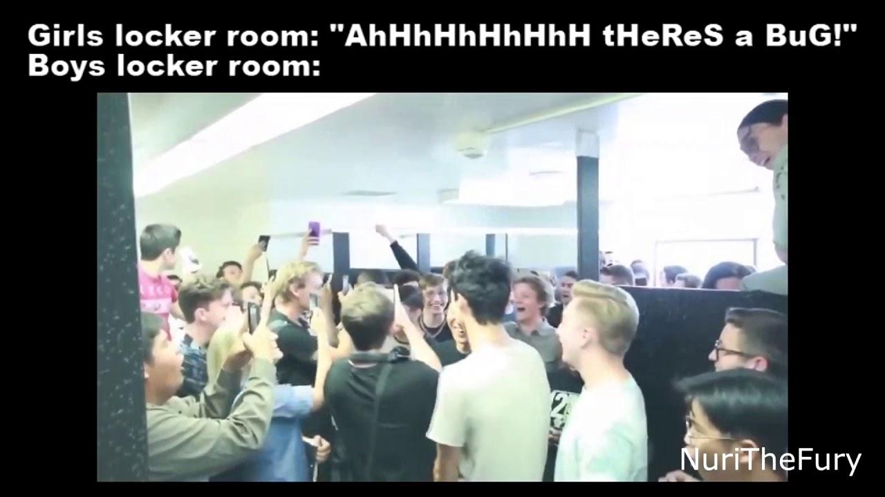 Girls/Boys locker room meme - YouTube