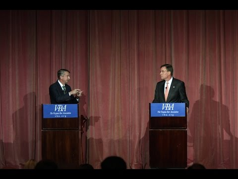 Watch Mark Warner, Ed Gillespie meet for first Virginia Senate debate