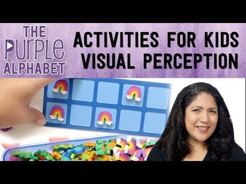 EASY & CHEAP Activities - VISUAL PERCEPTION