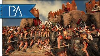 THE GREATEST BATTLE YOU WILL EVER WITNESS - Total War: Rome 2