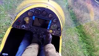Gyro flygning i stark sidvind med lite smått o goa övningar Sketa kul !!!!!
