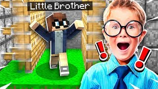 5 Ways to Mess With Your Little Brother in Minecraft!