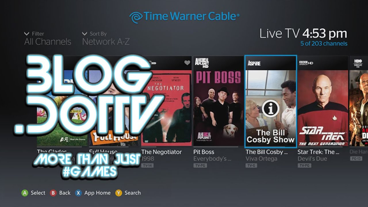 Time Warner Cable TV Demo for Xbox 360 - Official Xbox Press Wire ...
