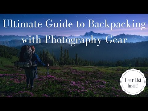 Ultimate Guide to Backpacking(Trekking) with Photography Gear ( Equipment List Included )