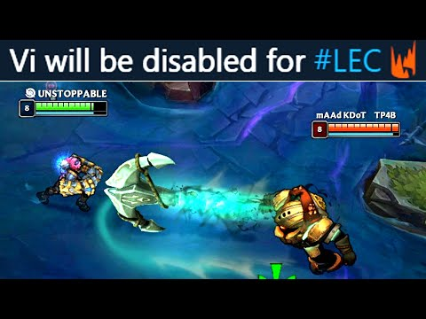 This Is Why Vi Is DISABLED In Pro Play! (probably...)