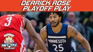 Derrick Rose Game 1 Playoff Performance   Hoops N Brews thumbnail