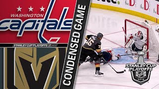 05/28/18 Cup Final, Gm1: Capitals @ Golden Knights