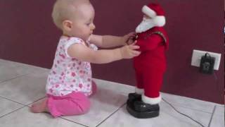 Super Cute - Baby Dancing with Santa Toy