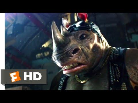Teenage Mutant Ninja Turtles 2 (2016) - Mutant vs Mutant Scene (8/10)   Movieclips