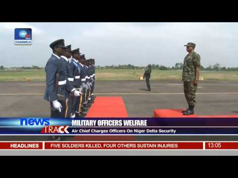 Oshiomhole Commissions Airforce Base In Benin City