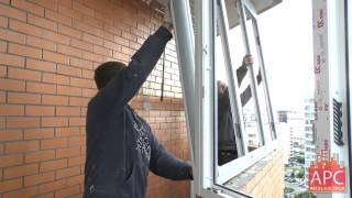 Технология остекления балкона ПВХ окнами от АРСеналстрой