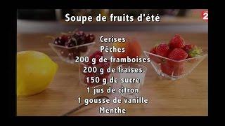 Gourmand - Soupe de fruits d'été - 2016/08/06