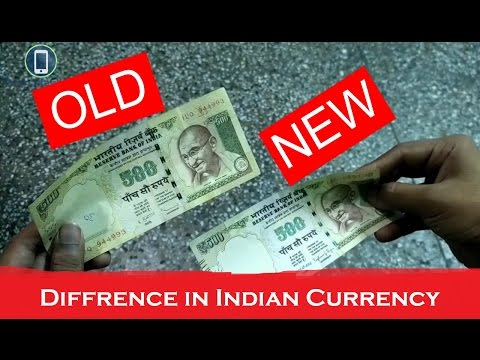 What's New in 2016 Indian Currency | Difference Between Old & New | 500 and 1K Notes | Tech Machine