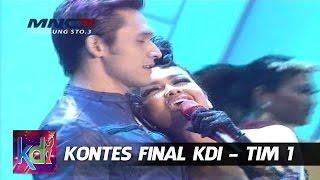 "Julia Perez Feat  Indra Brugman "" Udah Gak Tahan "" Kontes Final KDI Tim 1 (13/5)"