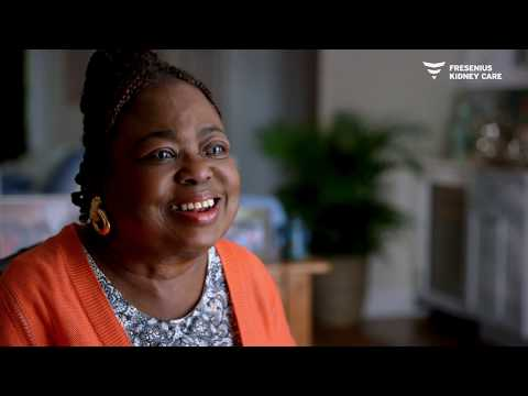 Kindness And Encouragement Helps Gloria Thrive On Dialysis
