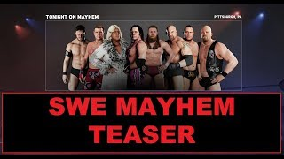 WWE 2K18 - SWE Universe Mode - Episode 2 - Mayhem Intro