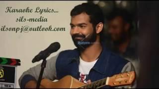 Sooryane Karaoke Lyrics | Adhi | Najim Arshad