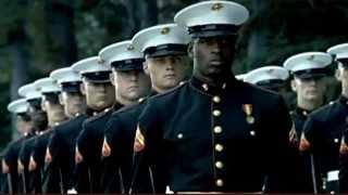 Реклама армии США. Морская пехота. Патротизм, все дела...