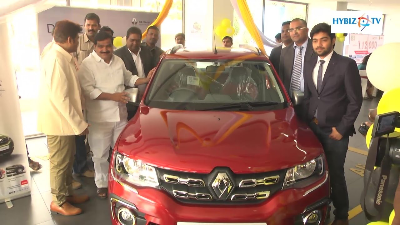 Renault Kwid Amt Automatic Launched In Hyderabad Hybiz Youtube