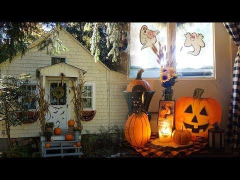 🍁🏡 FALL COTTAGE TOUR | Vintage Halloween + Woodland Autumn Decor! 🎃