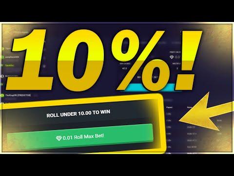 CSGO DIAMONDS BETTING: IMPOSSIBLE 10% WIN! CHALLENGE