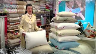 Магазин постельного белья, подушки, одеяла, идеи Новогодних подарков!(Сегодня мы расскажем и покажем, как правильно выбрать подушку, познакомим с уникальными новинками постельн..., 2015-12-21T10:47:30.000Z)
