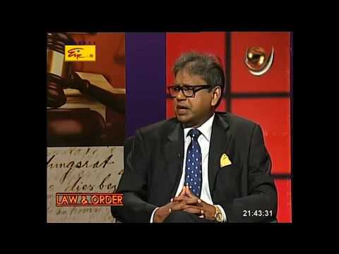 Dr Harsha Cabral PC - TV interview on Company Law