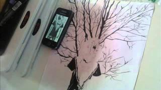 Drawing Dj Bl3nd 2 - Dibujo Dj Bl3nd 2 - (Electro house)