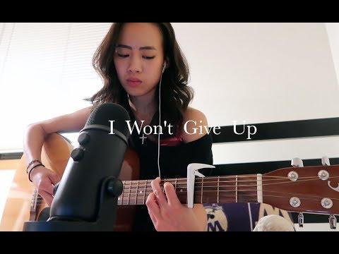 I Won't Give Up - Jason Mraz (live acoustic cover) Angel Chi