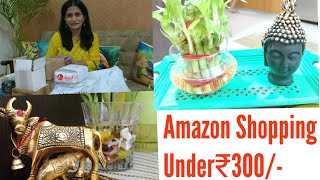 Amazon Haul/Home Decor Shopping Under 300/Unboxing and Review/Indian Vlogger Manisha