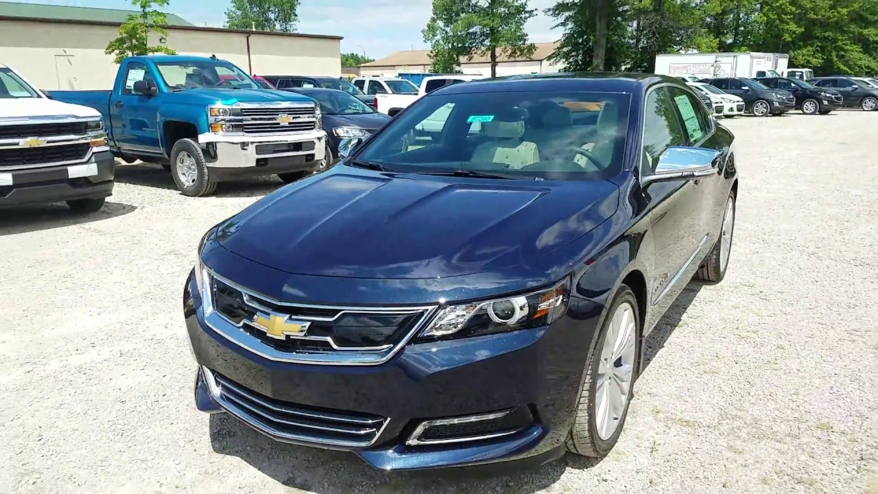 2017 Chevy Impala Premier - Blue Velvet Metallic - Intro ...