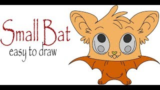 Small Bat Coloring Pages Learn Colors for Kids and Color Halloween Bats Coloring Pages