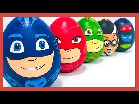 Игрушки сюрпризы Герои в масках 2. Яйца с сюрпризом  #героивмасках #яйцо #игрушка #сюрприз