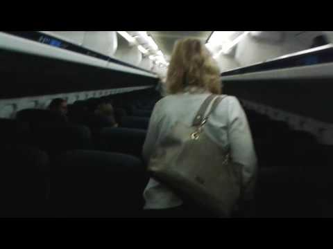 Boarding an American Airlines MD-80 (DFW to ORD)