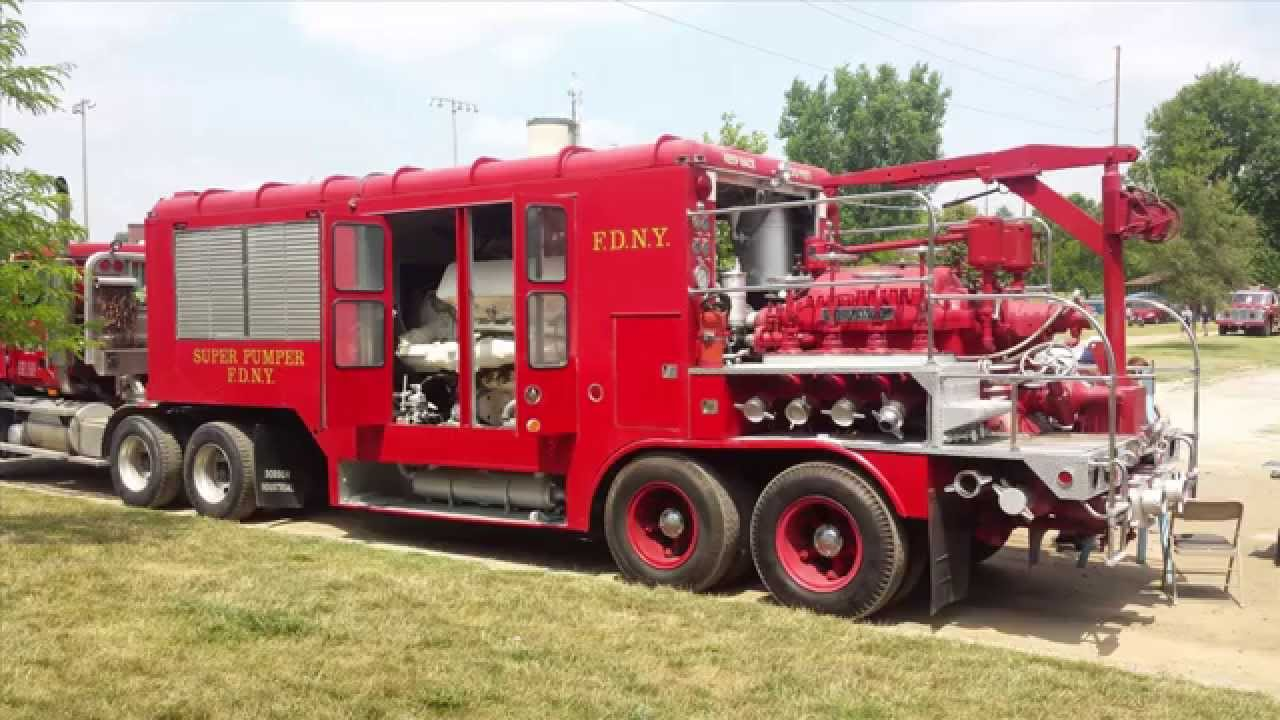 Most Expensive Truck In The World >> The FDNY Super Pumper - Worldest most powerful fire engine ever built - YouTube