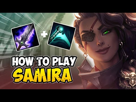 How to Play SAMIRA ADC for Beginners | SAMIRA Guide Season 10 | League of Legends