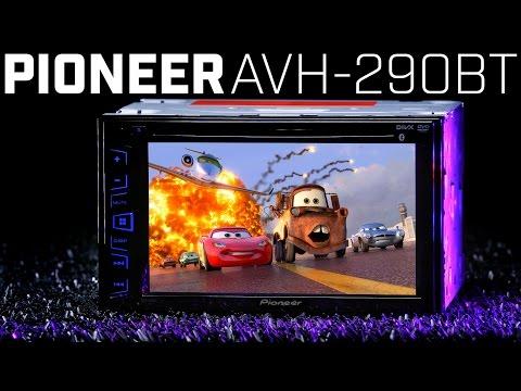 Pioneer AVH-290BT Double DIN Bluetooth Radio - NEW