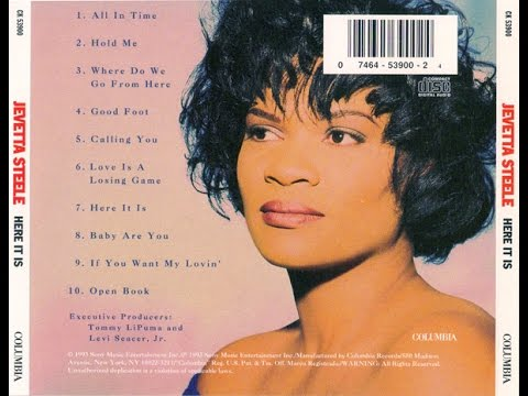 Jevetta Steele - Here It Is [Full Album]